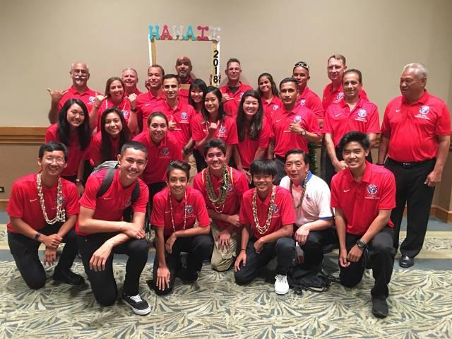 Far West Regionals - Hawaii Referee Contingent