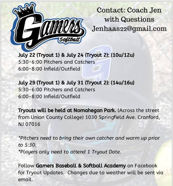 NJ Gamers Softball - (Kenilworth, NJ) - powered by