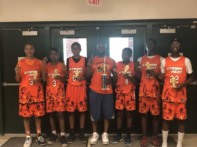 Germantown Heat 7th/8th Grade Summer Jam Champs