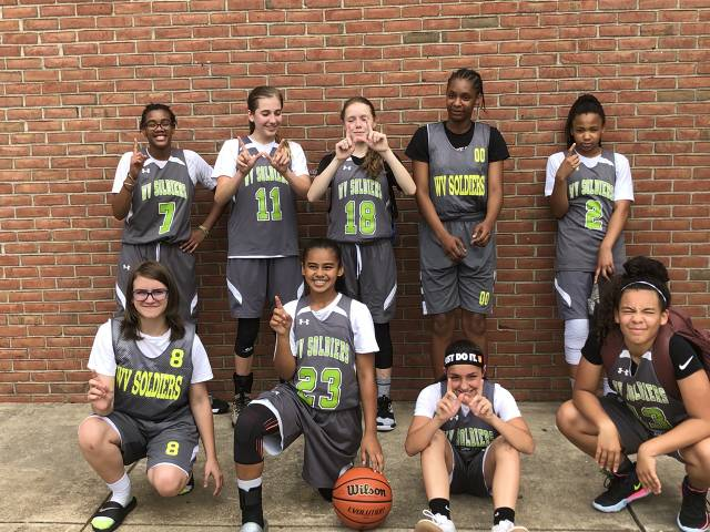 WV Soldiers 6th/7th Grade Summer Jam Champs