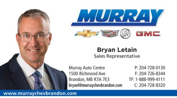 Bryan Letain - Murray's Auto Group