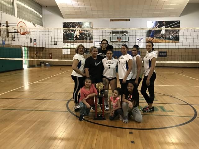 Volleyball Champs - Las Tartaras