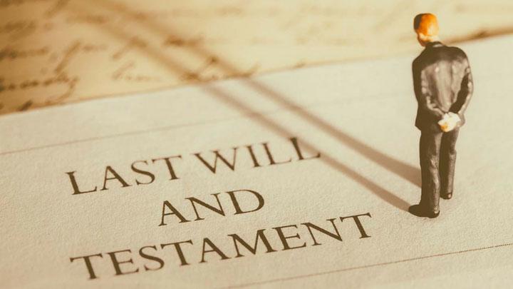 preparing a will in India