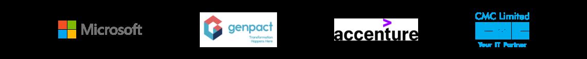 Myamcat Clients -Microsoft | Genpact | Accenture | CMC Limited | Aricent