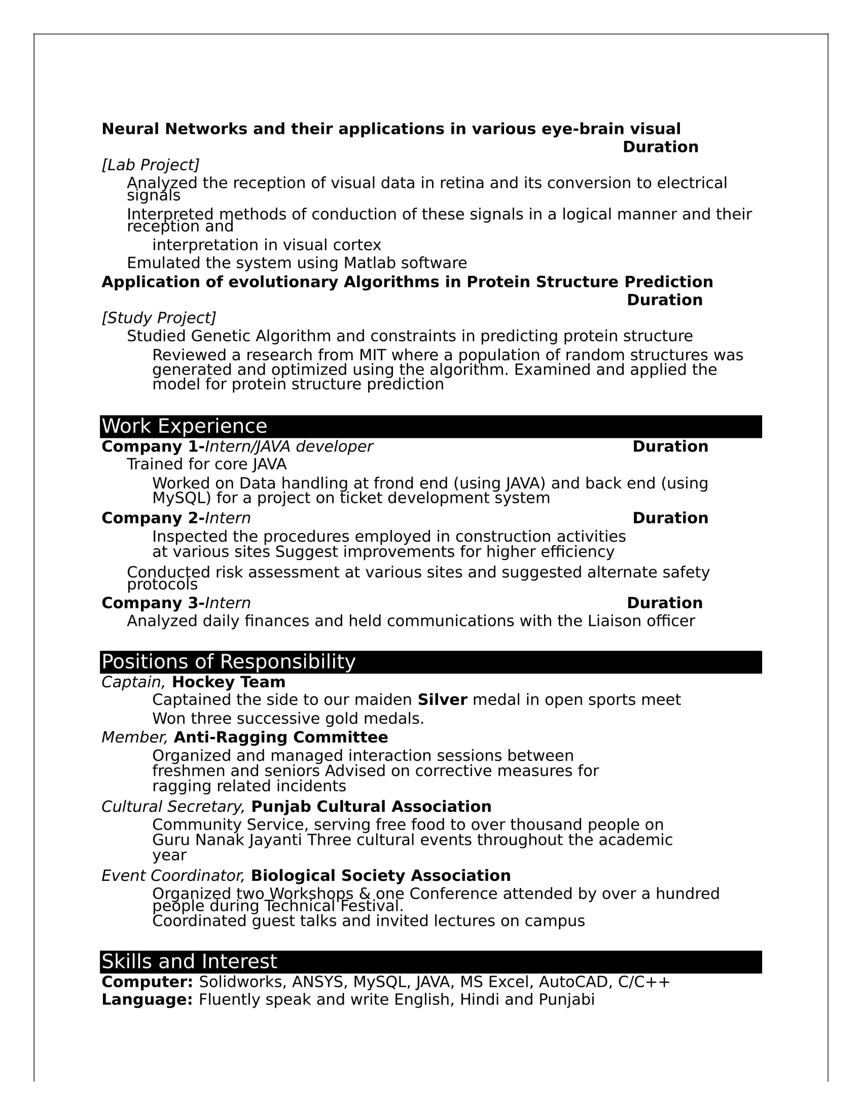 Internship Certificate For Civil Engineering Students Pdf