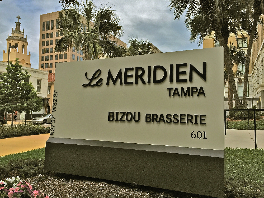 A Tour of Le Méridien Tampa & Bizou Brasserie | Tampa's Newest Historic Boutique Hotel & Restaurant
