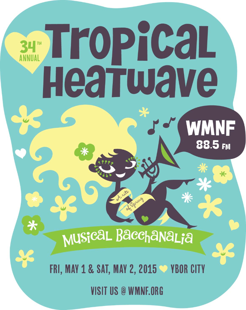 """Over 60 Bands Bringing A """"Heatwave"""" to Ybor This Weekend!"""