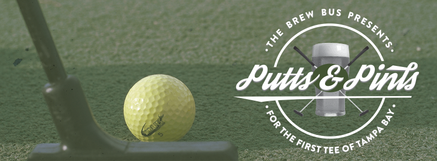 "The Brew Bus Tampa Presents ""Putts & Pints"" - Mini-Golf with a Purpose!"