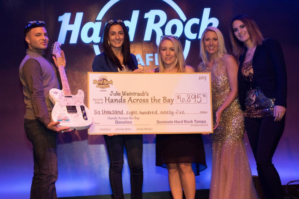 Hearts of Gold Abound at the Hands Across The Bay Charity Slot Tournament | Hard Rock Cafe
