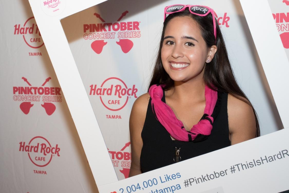 PINKTOBER Concert Series Concludes with Francesca Giorgianni at the Seminole Hard Rock Hotel & Casino Tampa