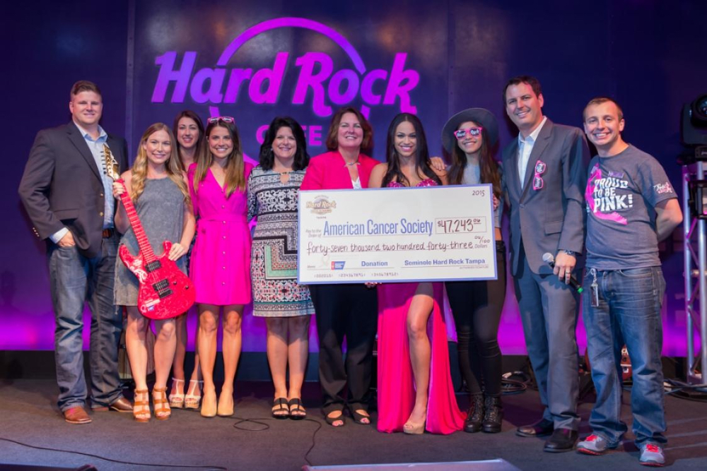 PINKTOBER Charity Slot Tournament Raises $43,243 for the Making Strides Foundation