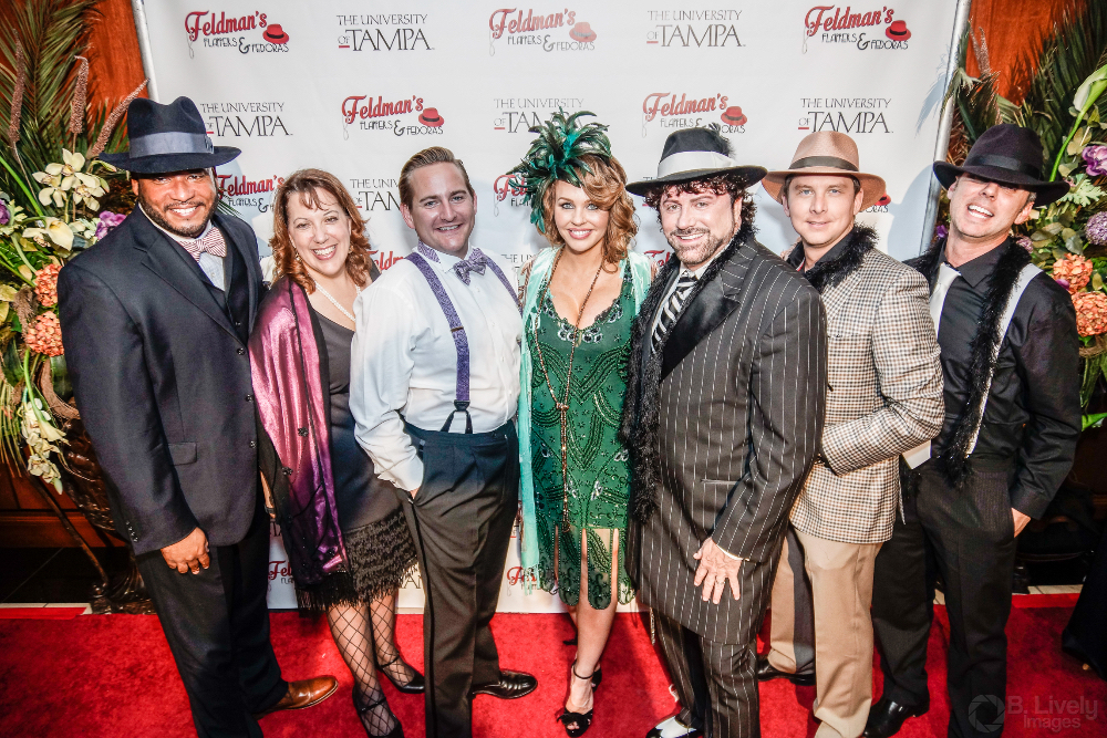Feldman's Flappers and Fedoras at UT Toasts One of Tampa's Favorite Community Leaders