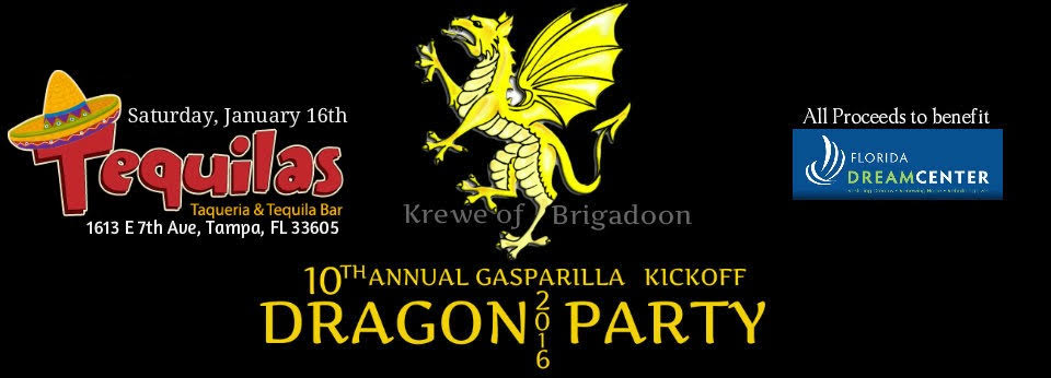The 10th Annual Gasparilla Kickoff Dragon Party | Benefiting Florida Dream Center