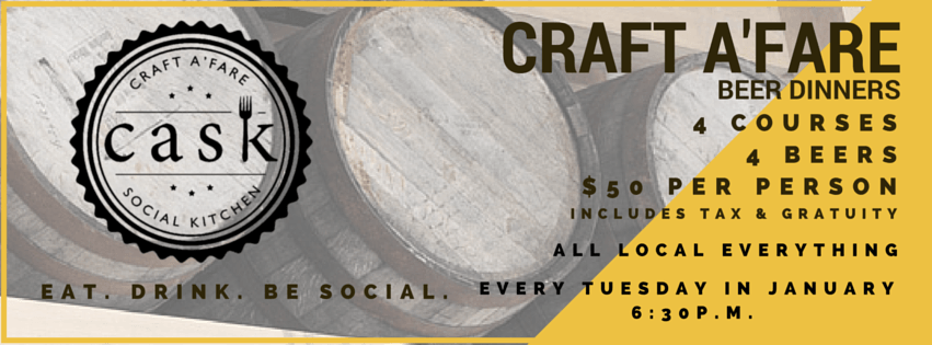 Cask Social's Four Course, Four Beer Pairings Dinner Showcases Tampa's Best Local Breweries