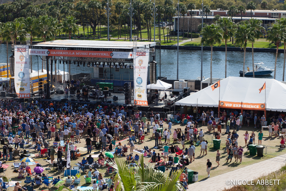 VIP Is The Way To Be At Gasparilla Music Festival!