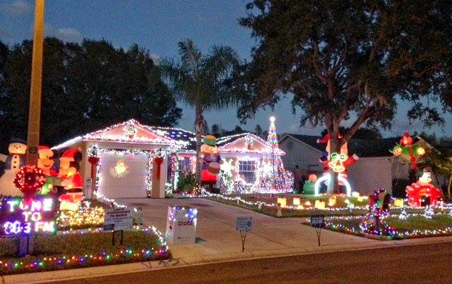 Rawls Road Electric Light Show   Carrollwood Northdale Area   5118 Rawls,  Rd. 33624 Photo Gallery