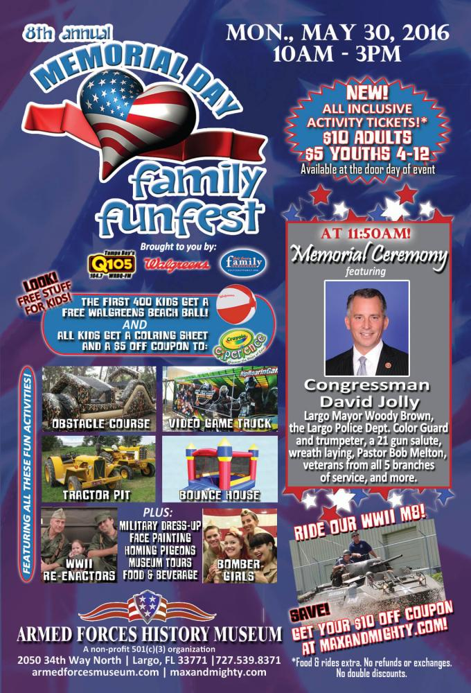 fun    memorial weekend  pinellas county Family Things To Do In Pinellas County