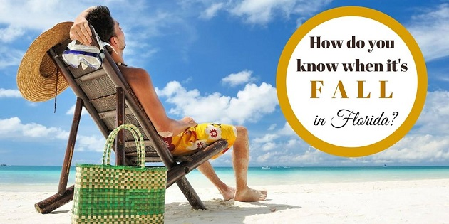 Top Ten Ways We Know It is Fall in Florida