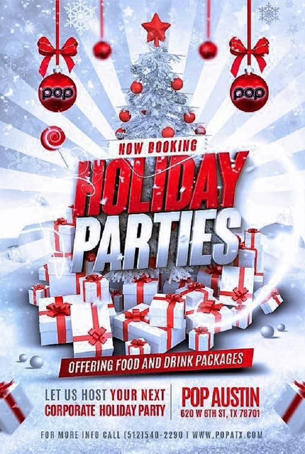 Take Your Corporate Holiday Party to the Next Level This Year at POP!