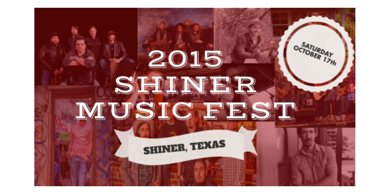 Shiner Music Fest: One Day Only!