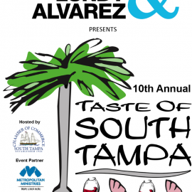 Get Ready To Taste | The Taste of South Tampa | April 12th, 2015