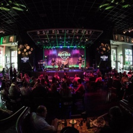 It's a Tampa Bay Acoustic Music Festival at the Hard Rock Cafe Wrap Party!