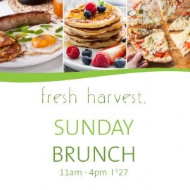 Feast Your Way Around the World | Sunday Brunch at Fresh Harvest | Seminole Hard Rock Hotel & Casino Tampa