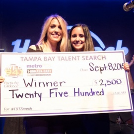 A Star is Born: Francesca Giorgianni Takes Top Spot in Wild 94.1's Tampa Bay Talent Search
