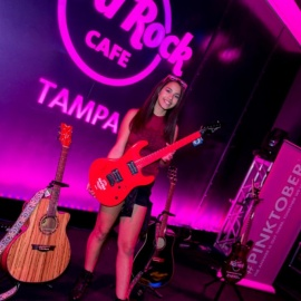 PINKTOBER Concert Series Continues with Natalie Claro at the Seminole Hard Rock Hotel & Casino Tampa