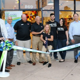 Where's The Beef? The Grand Opening Of The Beef Jerky Outlet In Waterford Lakes, Of Course