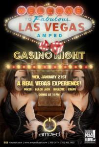 A Little Bit Of Vegas at AMPED | Play For The Pups at Casino Night