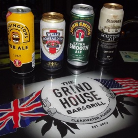 An English Pub Like No Other! Grind House Bar & Grill - Clearwater