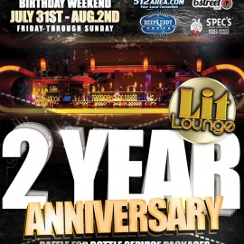 Come Get Lit at the 2 Year Anniversary of Lit Lounge