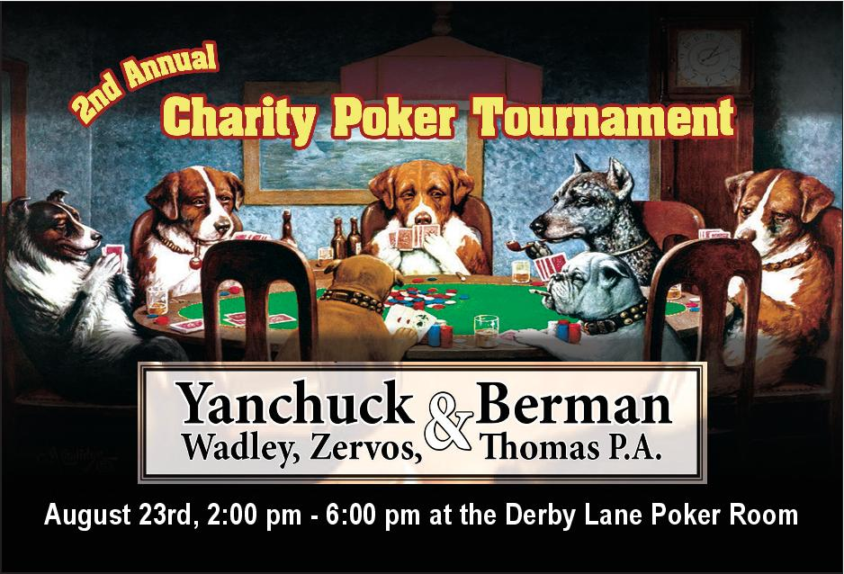 Charity Poker Tournament At Derby Lane Poker Room St