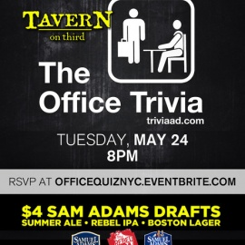 The Office Trivia Events at TAVERN on third