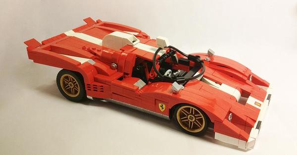 LEGO Ferrari 512M