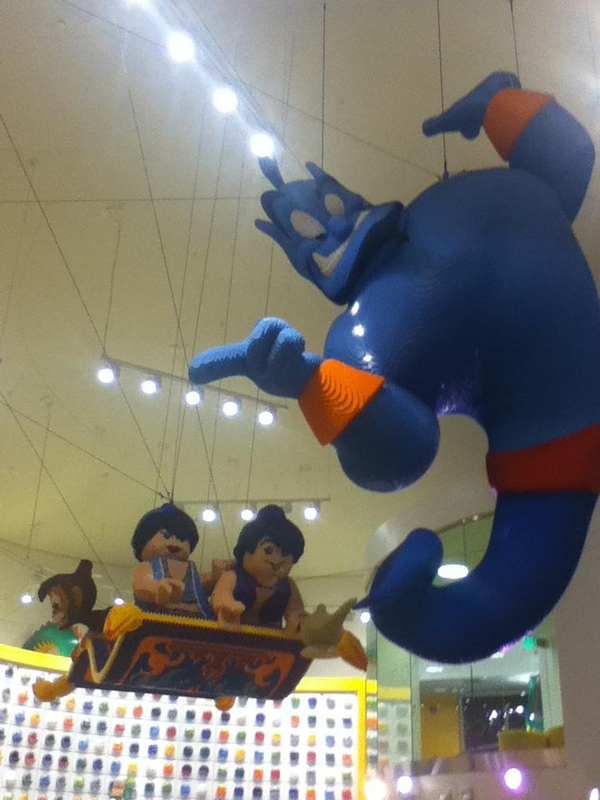 Huge LEGO Aladdin