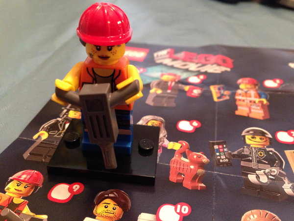 LEGO Movie Minifigure #9