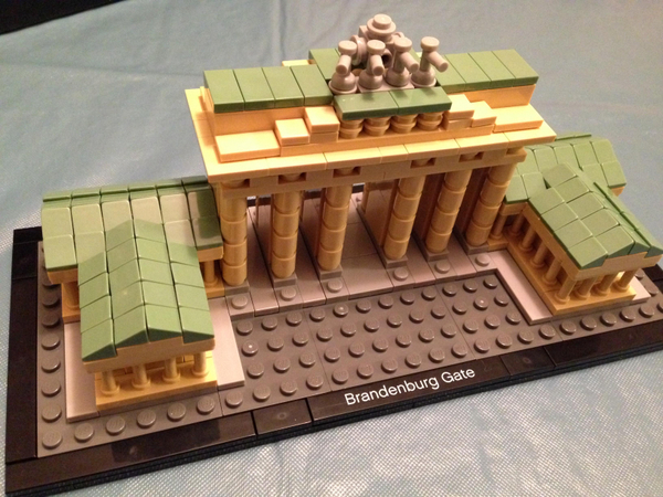 Brandenburg Gate Build in Progress