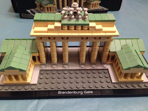 Some Closeups of the Brandenburg Gate