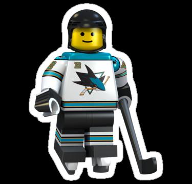 San Jose Sharks Minifigure