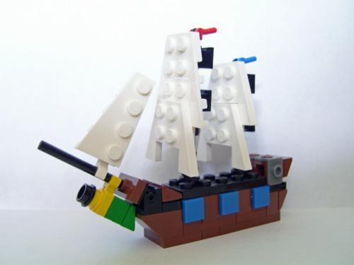 Micro Sailship MOC