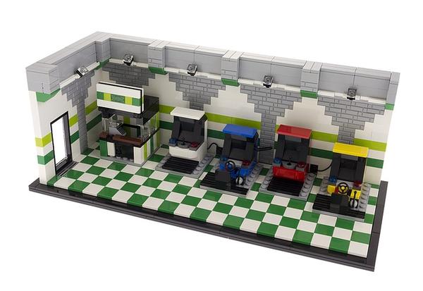 LEGO Ideas 80s Arcade