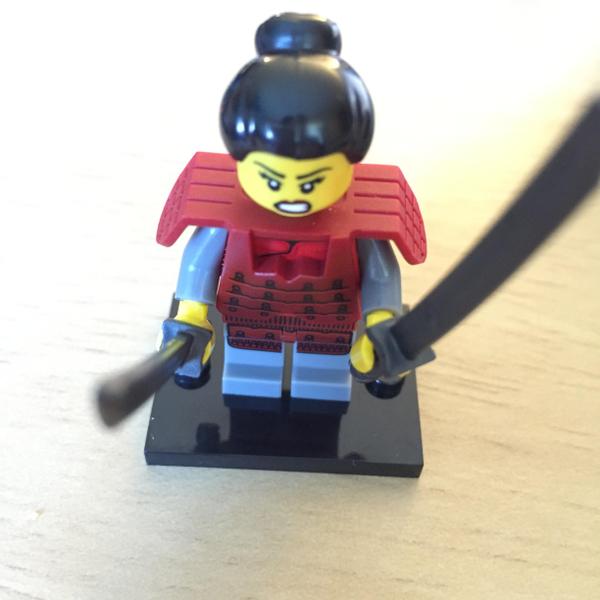Samurai Minifigure