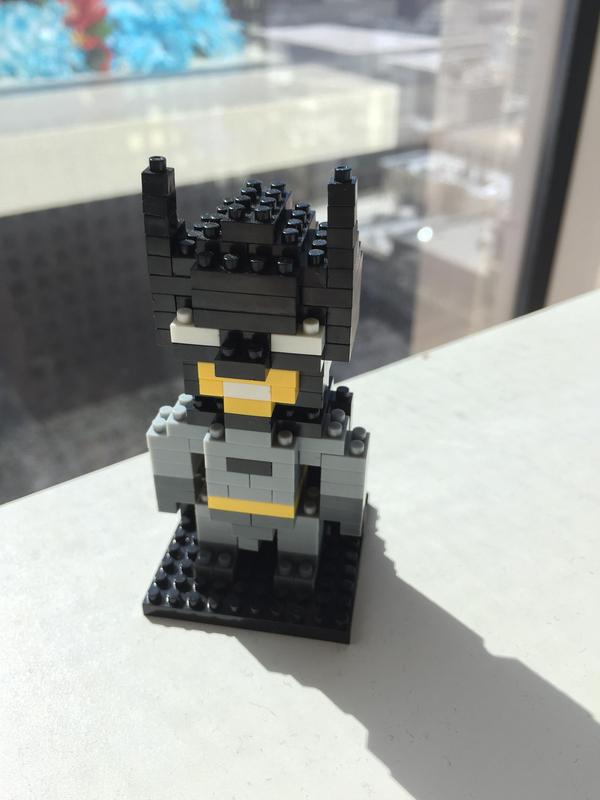 Batman Pixel Style Build