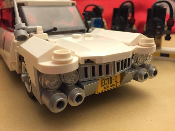 Ghostbusters vehicle weekend build
