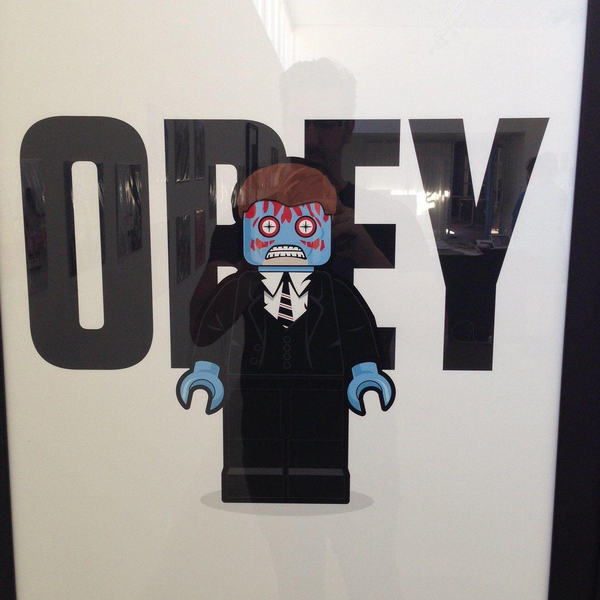 Minifigure They Live