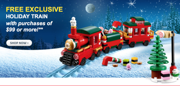Holiday Train VIP Offer