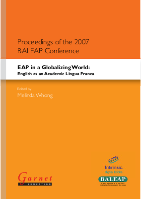 EAP in a Globalizing World