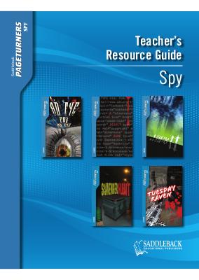 Spy Teacher's Guide